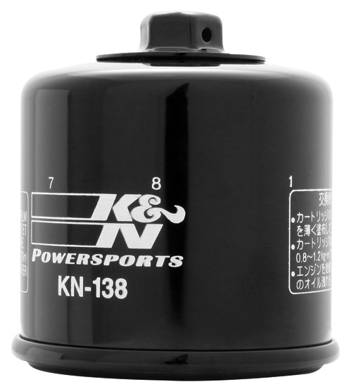 K&N KN-138 Oil Filter OIL FILTER; POWERSPORTS