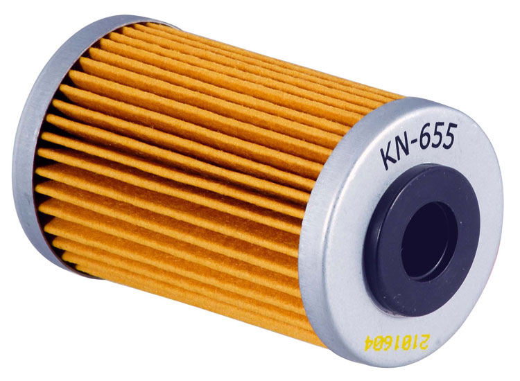 K&N KN-655 Oil Filter OIL FILTER; POWERSPORTS