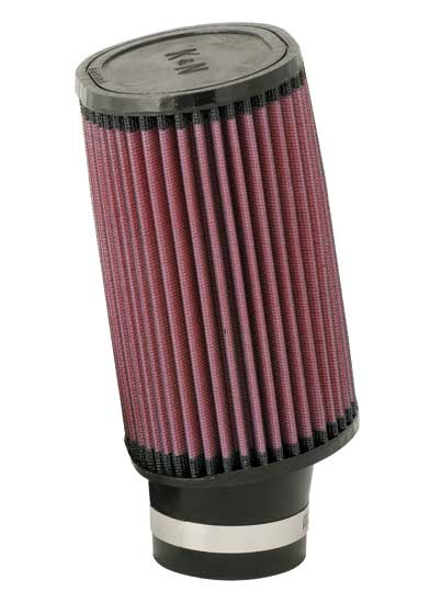 "K&N RU-1830 Universal Rubber Filter 2-1/2 FLG, 4-1/2"" X 3-3/4"", 7""H, OVAL"