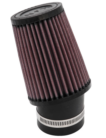 "K&N SN-2520 Custom Air Filter 2-7/16""20 DEG FLG, 3-3/4""B, 3""T, 5""H SNOWMOBILE"