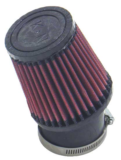 "K&N SN-2530 Custom Air Filter 2-7/16""20 DEG FLG, 3-3/4""B, 3""T, 4""H SNOWMOBILE"