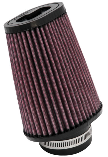 "K&N SN-2550 Custom Air Filter 2-7/16""20 DEG FLG, 4-12"" X 3-3/4""B,3-1/2"" X 2-1/2""T,6""H"