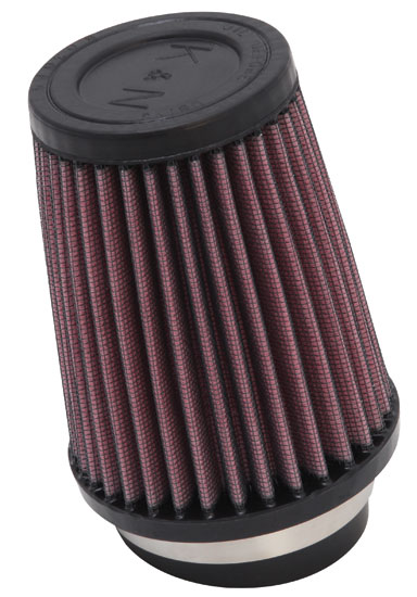 "K&N SN-2590 Custom Air Filter 2-3/4"" 10 DEG FLG, 4""B, 3""T, 5""H SNOWMOBILE"