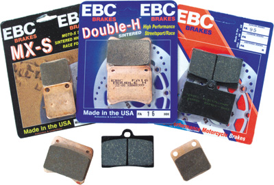 Hi-performance EBC Front Brake Pads for Arctic Cat, Honda, Yamaha, Suzuki, Kawasaki