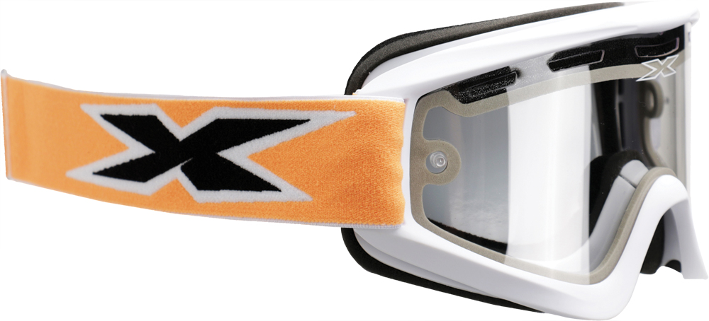 GOX ENDURO GOGGLE (WHITE/RED)