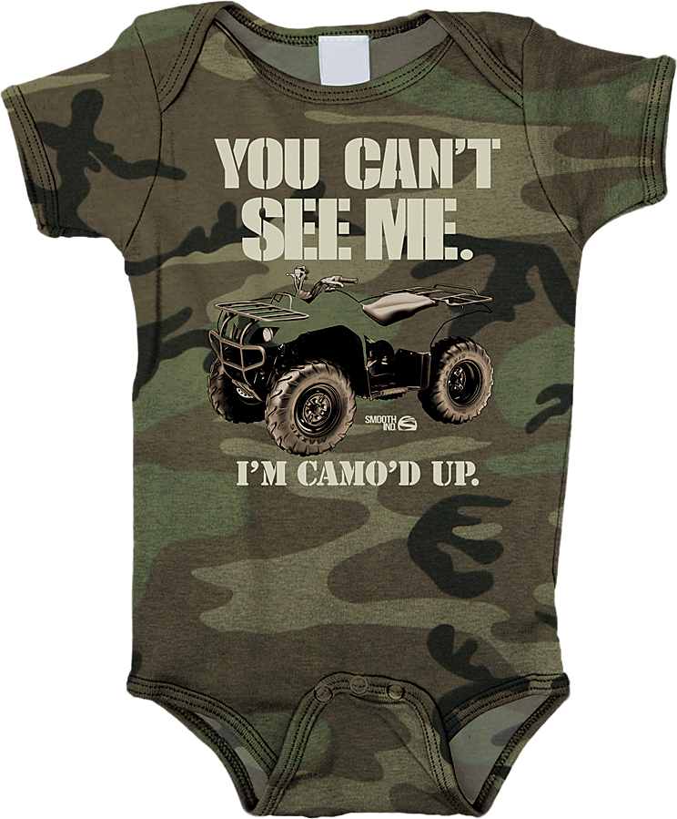 CAN T SEE ME ROMPER 12/18M