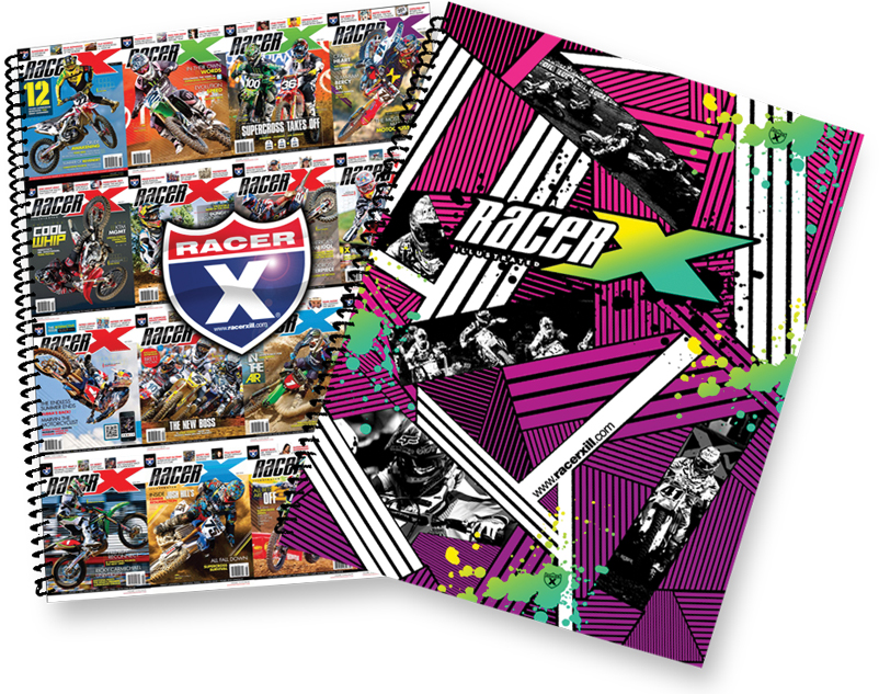 NOTE PADS (RACER X)