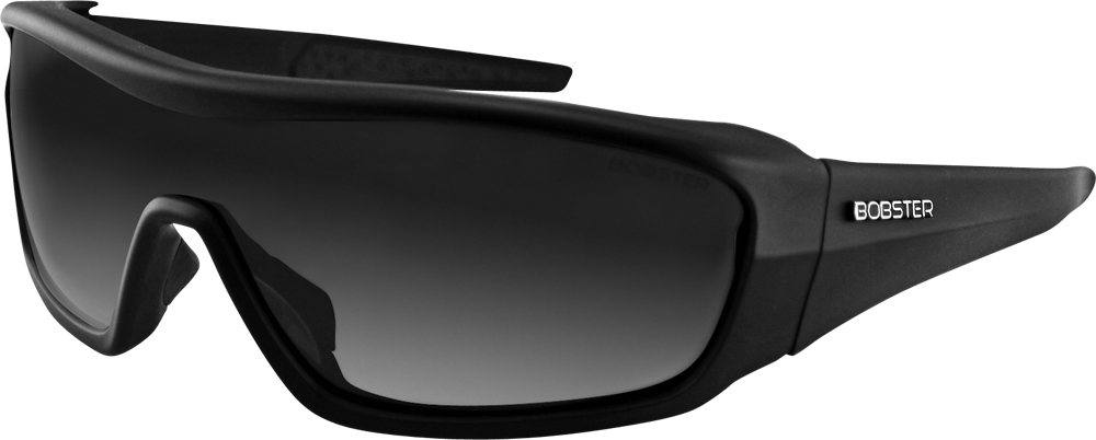 SUNGLASSES ENFORCER MATTE BLACK W/3 LENSES