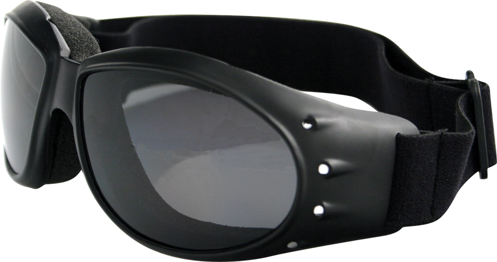 SUNGLASSES CRUISER BLACK W/SMOKE LENS