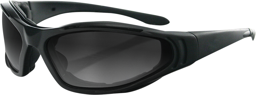 SUNGLASSES RAPTOR II BLACK W/3LENS