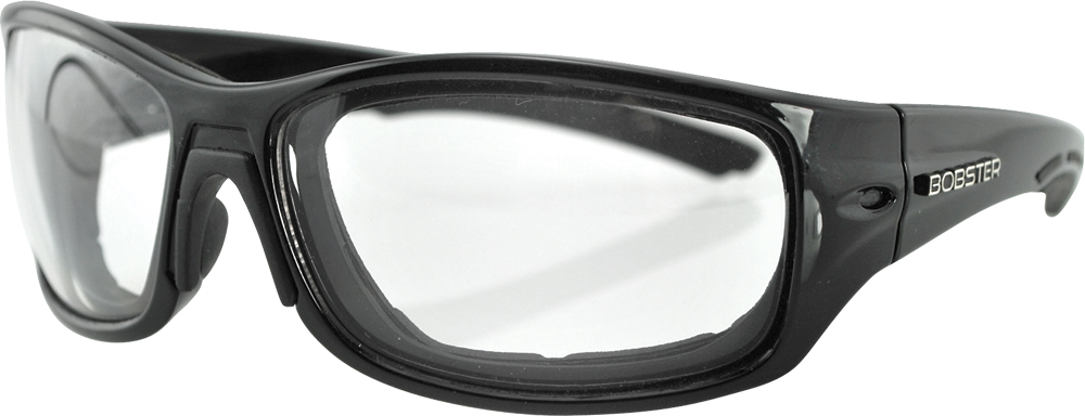 SUNGLASSES RUKUS BLACK ANTI-FOG W/PHOTOCHROMATIC LENS