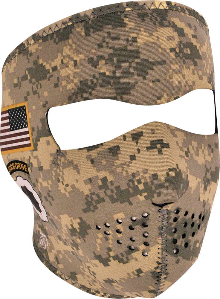 FULL FACE MASK (ARMY COMBAT UNIFORM)