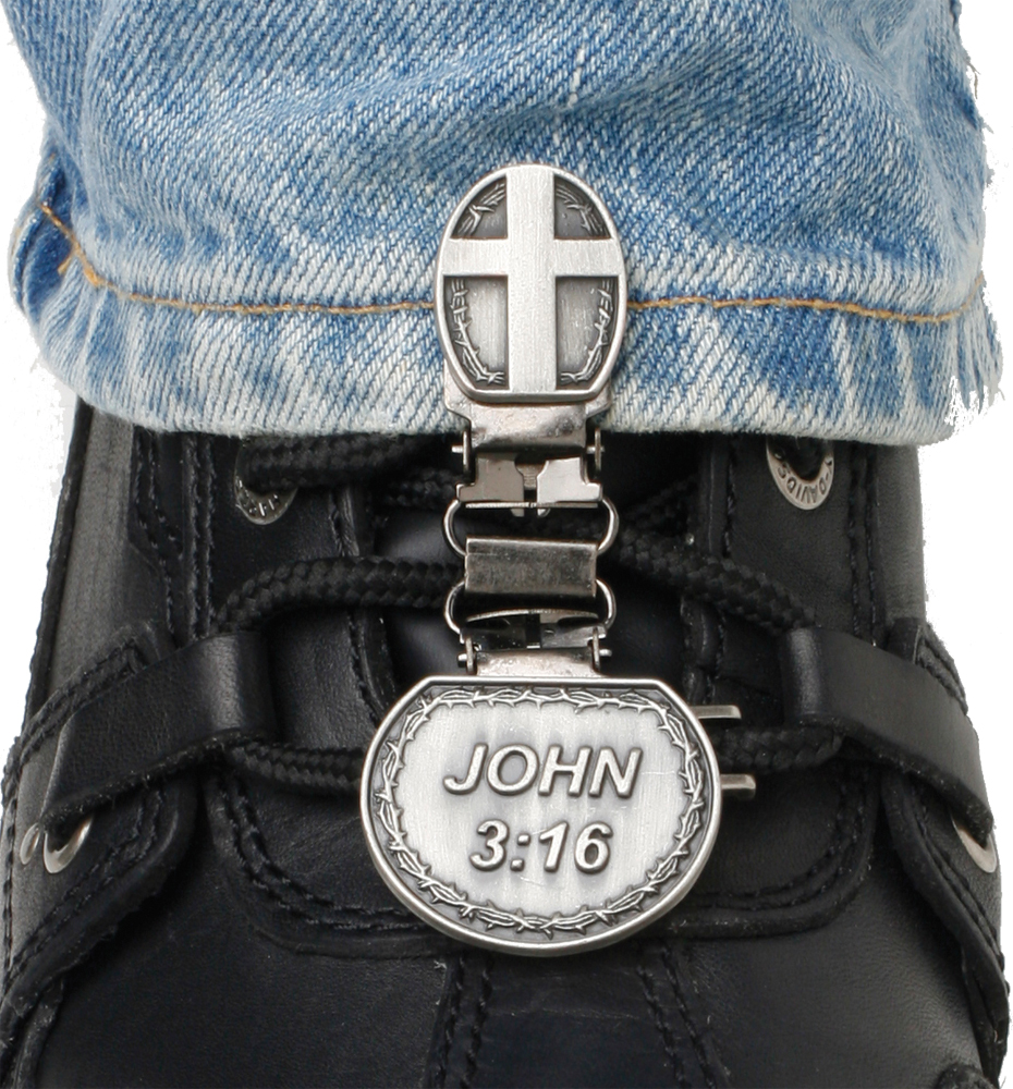 LACED BOOT TYPE (JOHN 3:16)