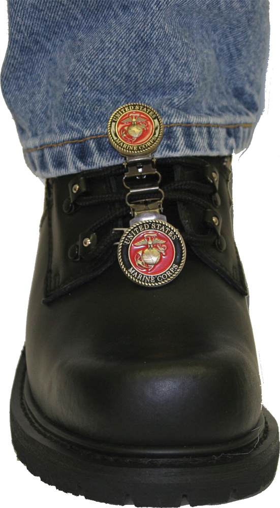LACED BOOT TYPE (USMC RED)
