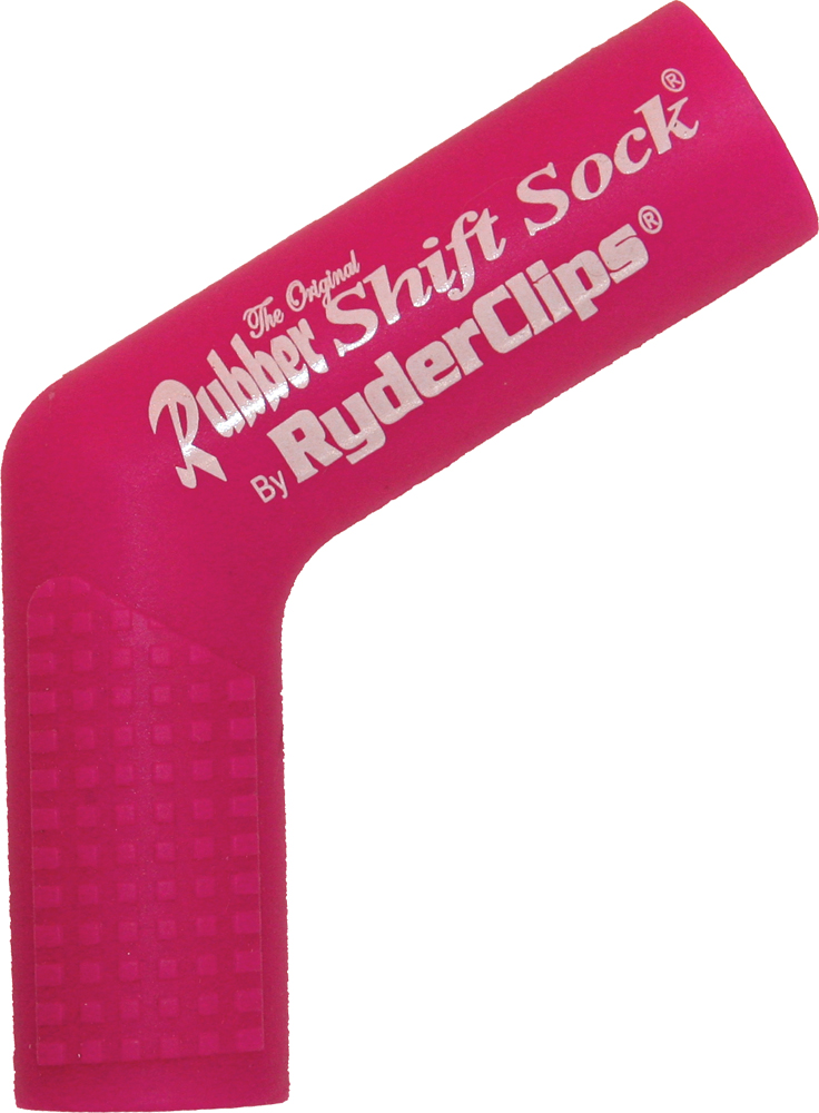 RUBBER SHIFT SOCK (PINK)