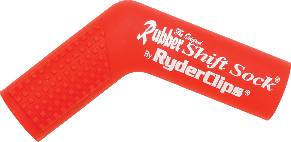 RUBBER SHIFT SOCK (RED)