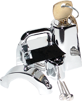 HELMET LOCK (CHROME)