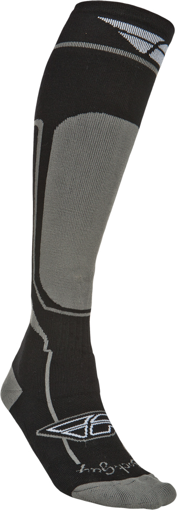 MOTO SOCK COLD WEATHER BLACK S-M