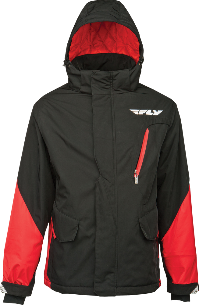 FACTORY JACKET RED/BLACK 2X