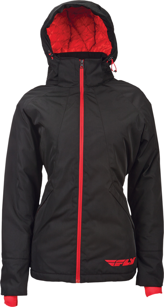 LEAN JACKET BLACK/RED 2X