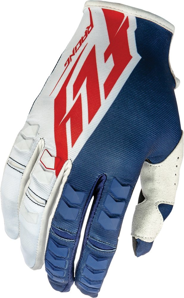 KINETIC GLOVES NAVY/WHITE/RED SZ 13