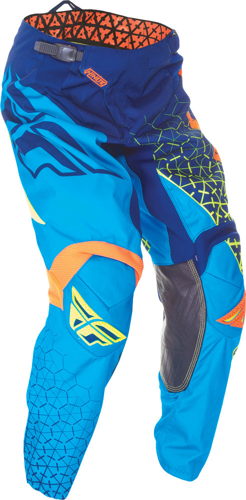 KINETIC TRIFECTA PANT BLUE/FLO. ORANGE/HI-VIS SZ 36