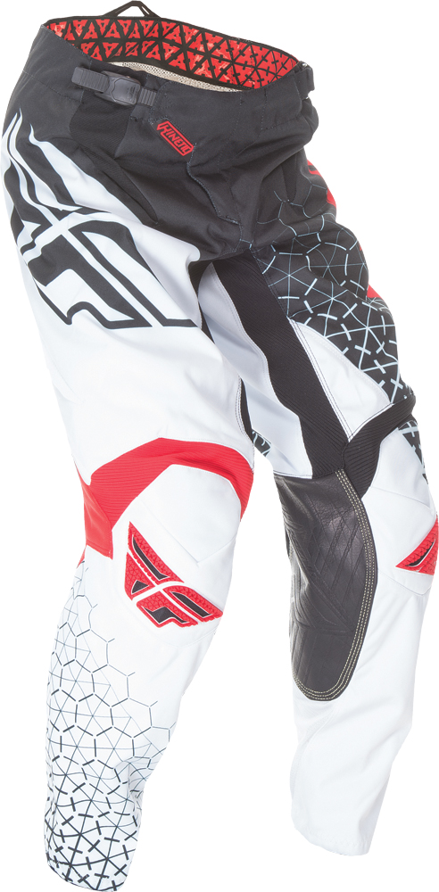 KINETIC TRIFECTA PANT BLACK/WHITE/RED SZ 20