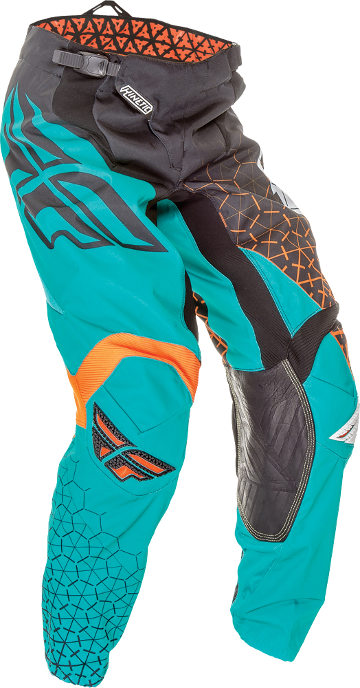 KINETIC TRIFECTA PANT BLACK/TEAL/ORANGE SZ 18