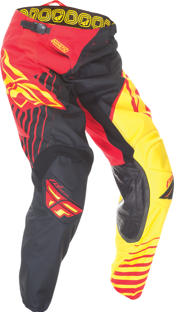 KINETIC VECTOR PANT RED/BLACK/YELLOW SZ 26