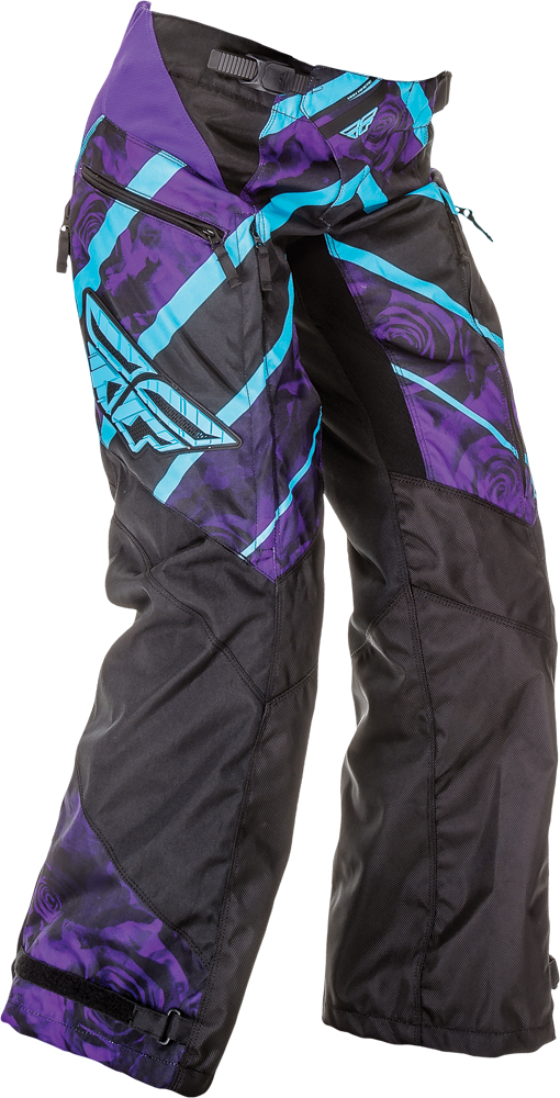 KINETIC LADIES OVERBOOT PANT PURPLE/BLUE SZ 22