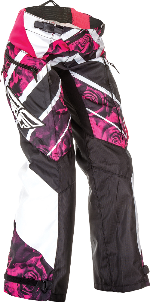 KINETIC LADIES OVERBOOT PANT PINK/WHITE SZ 0/2