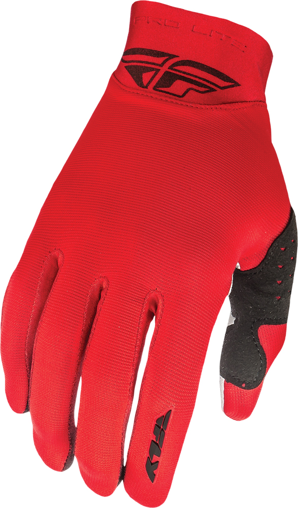 PRO LITE GLOVES RED SZ 7