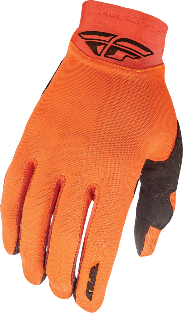 PRO LITE GLOVES FLO. ORANGE SZ 7