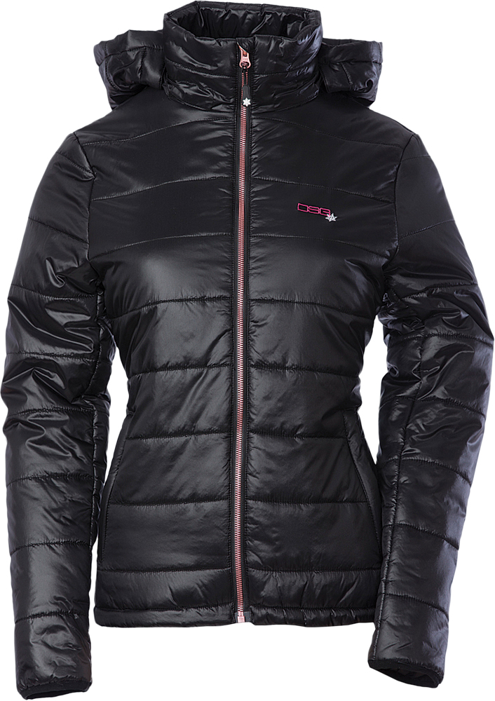 HOODED PUFFER JACKET 3X BLACK
