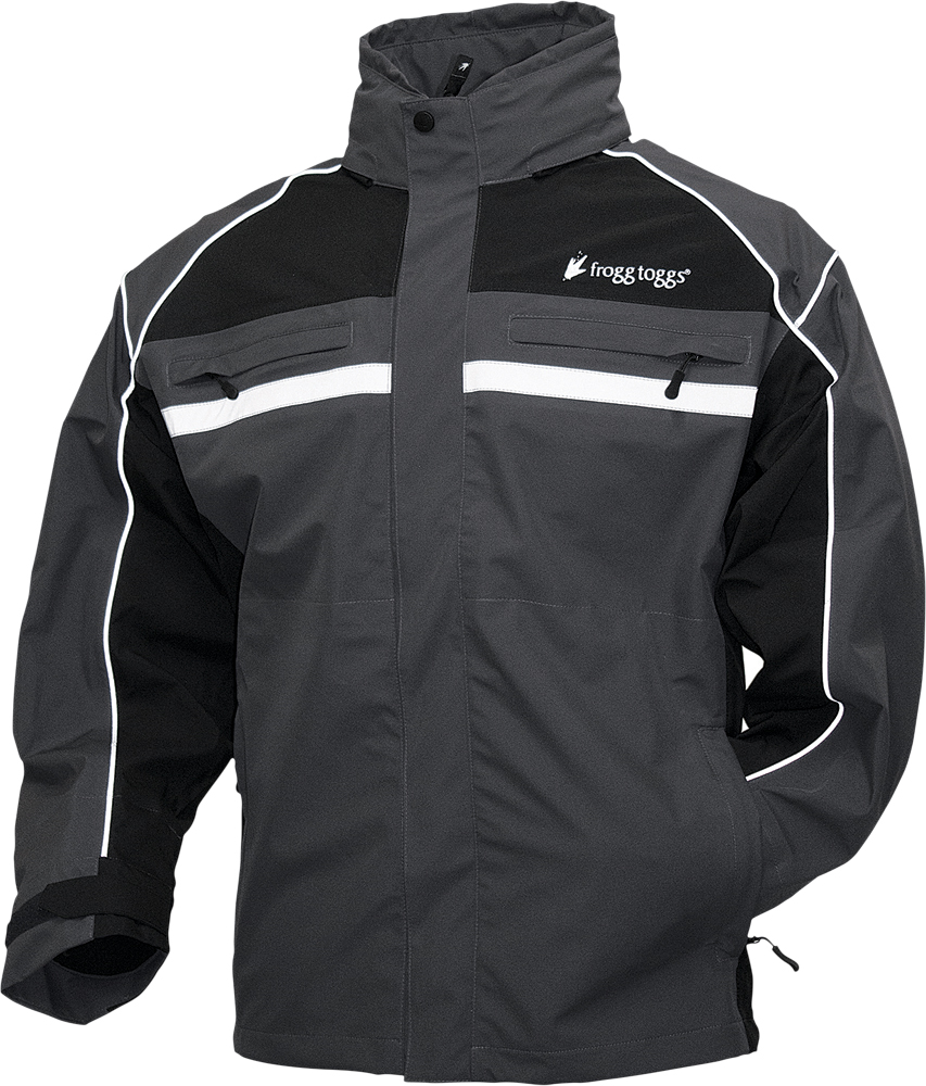 PILOT ILLUMINATOR JACKET BLACK/CHARCOAL GREY 2X