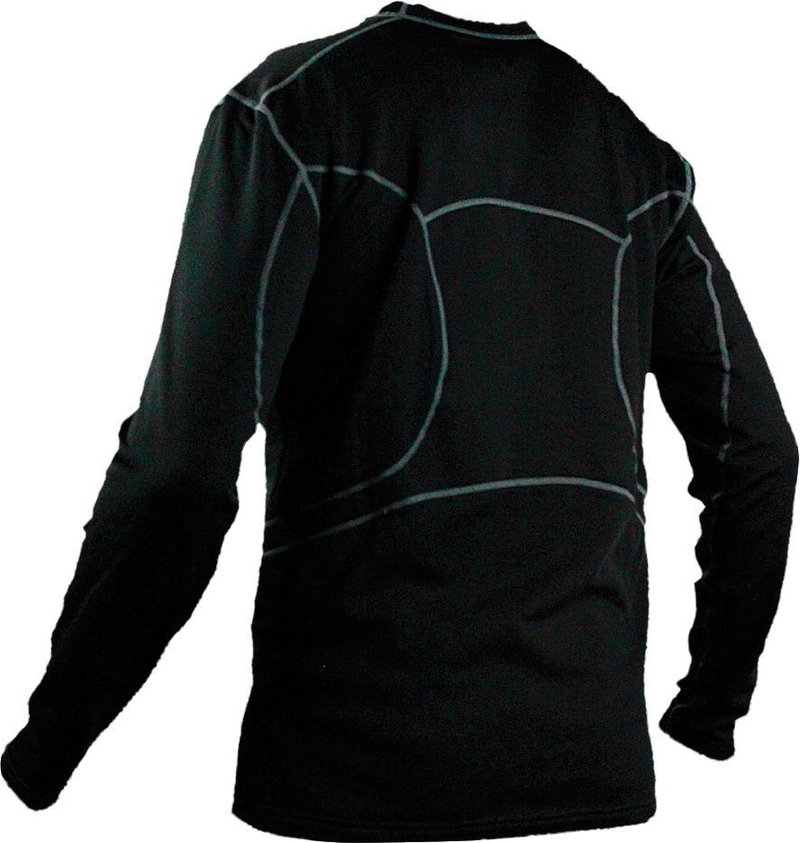 BATTERY OPERATED HEATED BASE LAYER MENS TOP S