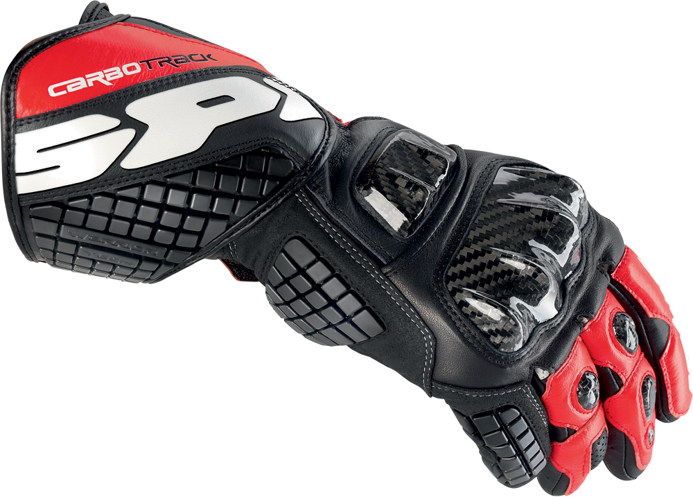 CARBO TRACK GLOVE BLACK/RED 3X