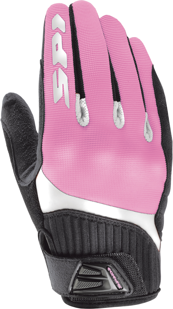 G-FLASH TEX LADY GLOVES PINK/BLACK S