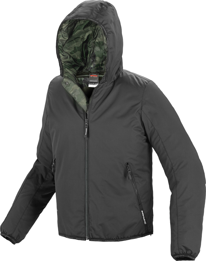 SCOUT H2OUT JACKET BLACK M