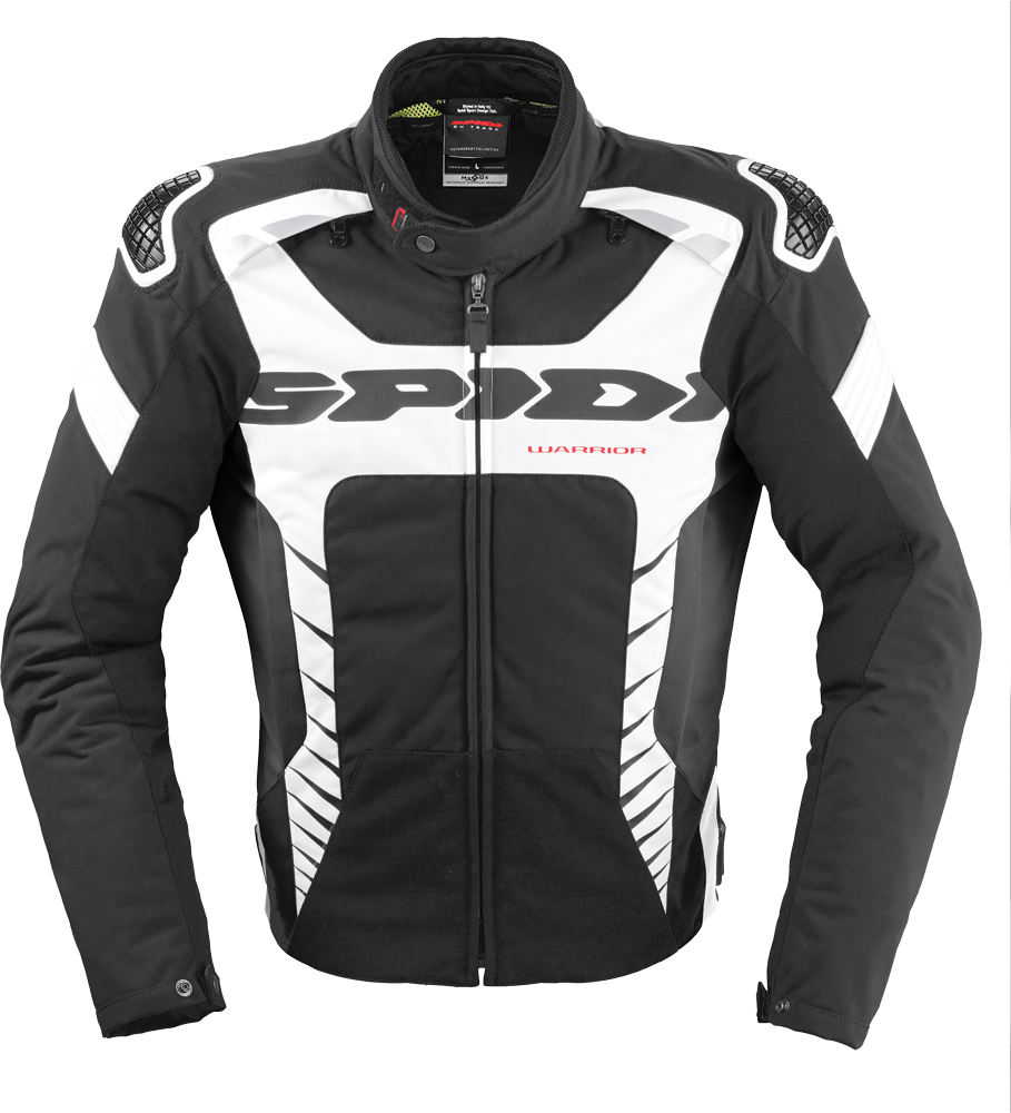 WARRIOR TEX JACKET BLACK/WHITE 2X