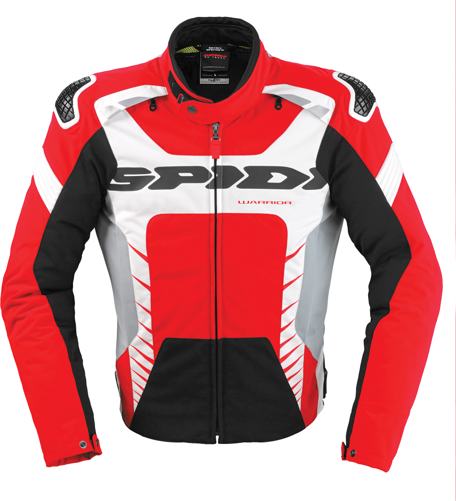 WARRIOR TEX JACKET RED/WHITE 2X