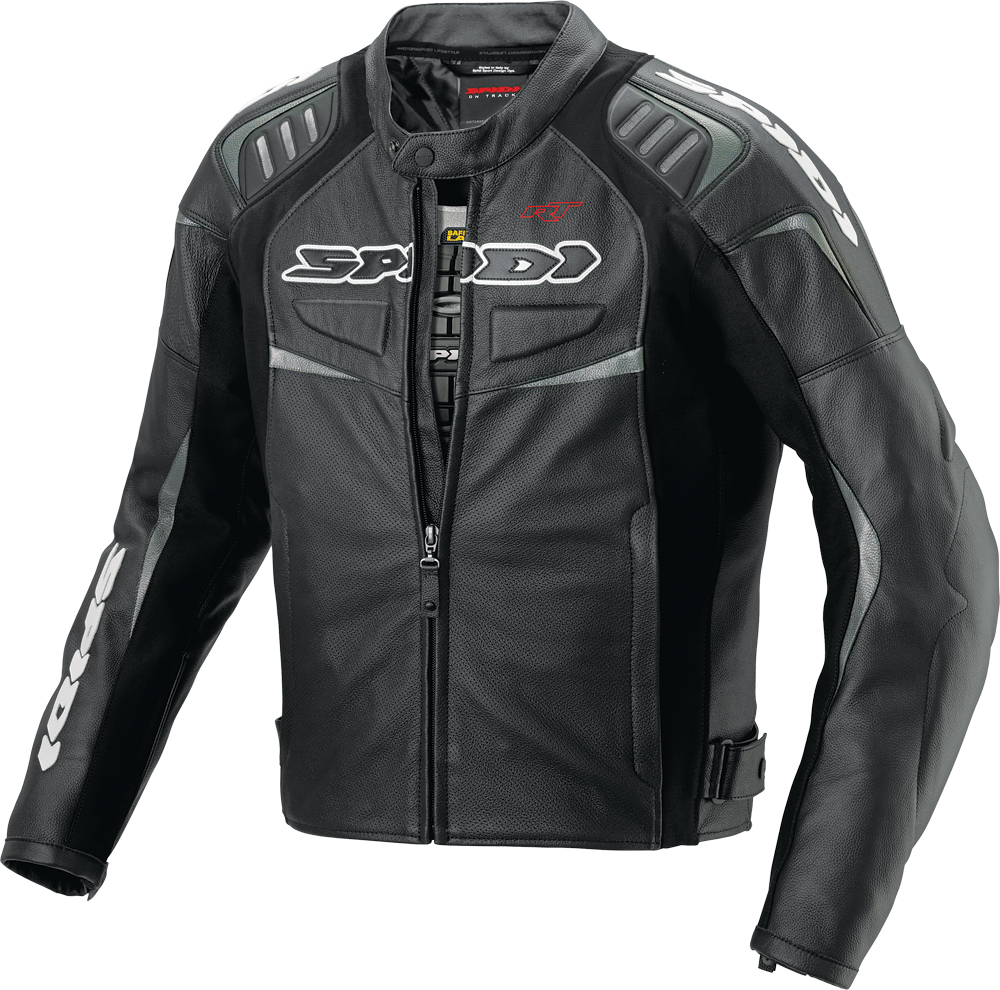 R/T LEATHER JACKET BLACK E48/US38