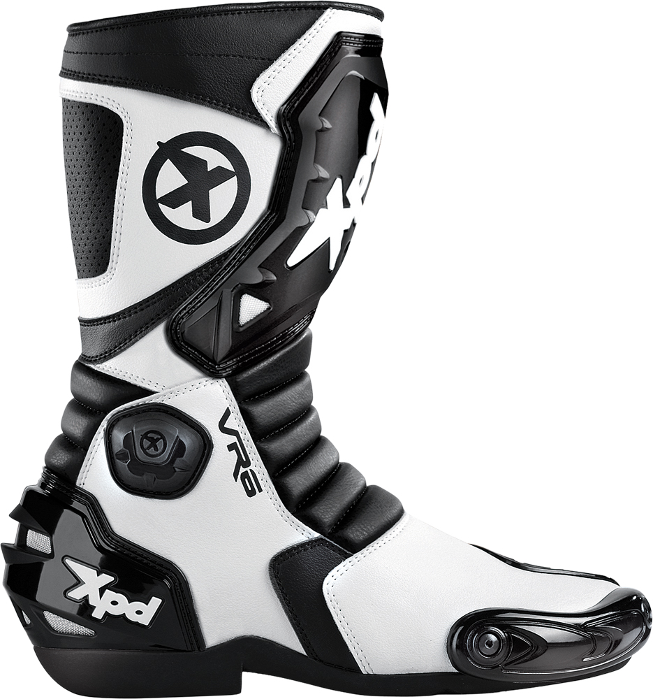 VR-6 BOOTS BLACK/WHITE E46/US11.5