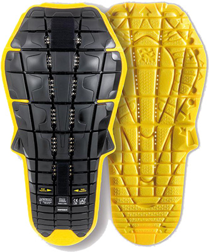 BACK WARRIOR EVO INSIDE (BLACK/YELLOW)