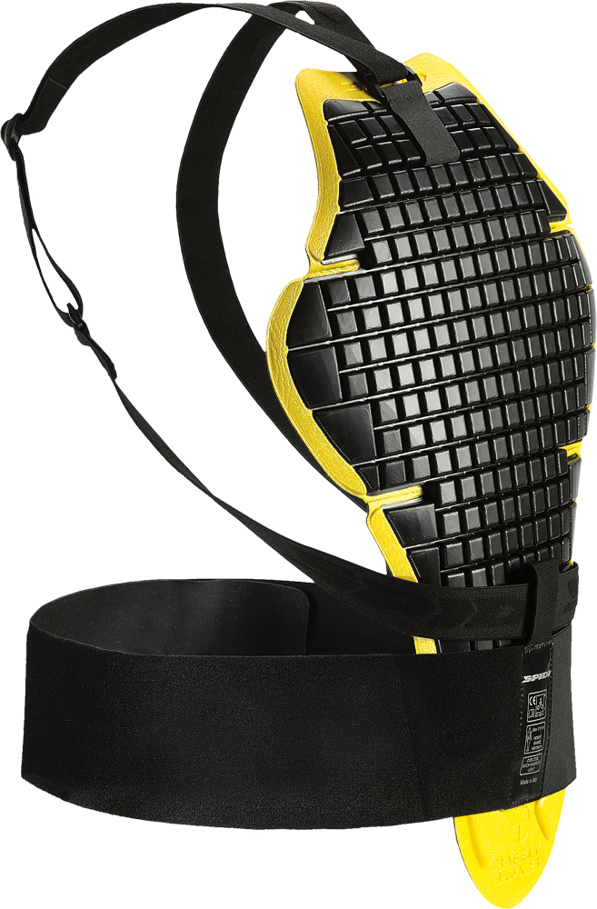 BACK WARRIOR LIGHT BLACK/YELLOW UNIVERSAL