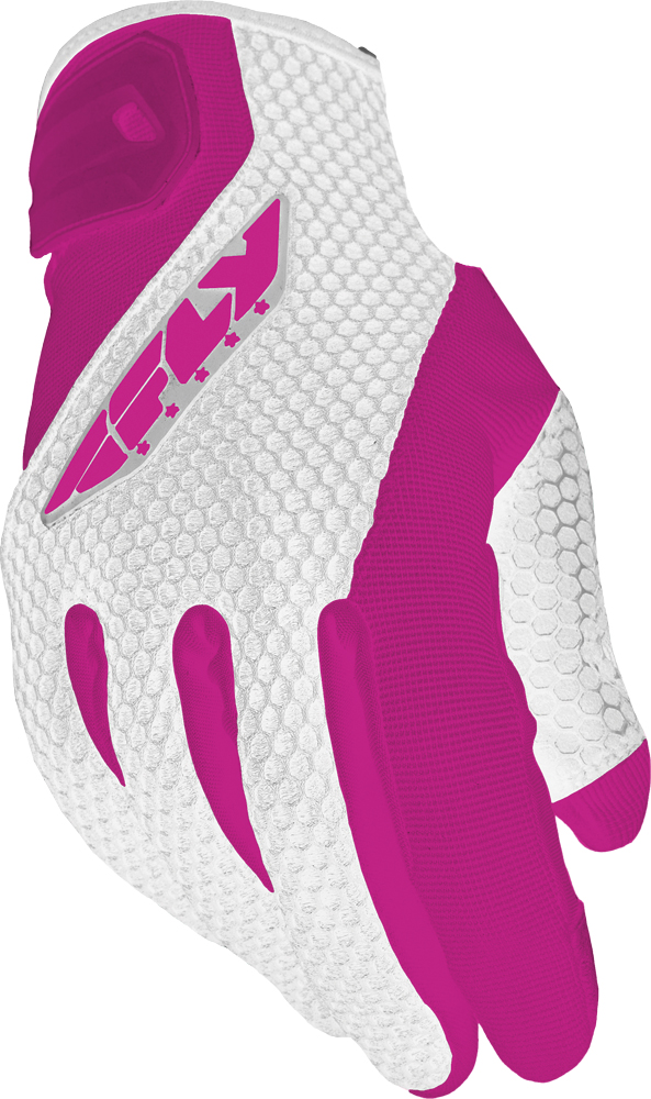 COOLPRO II LADIES GLOVES WHITE/PINK L