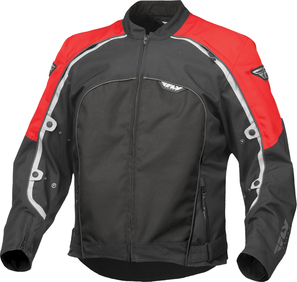 BUTANE 4 JACKET RED/BLACK 2X