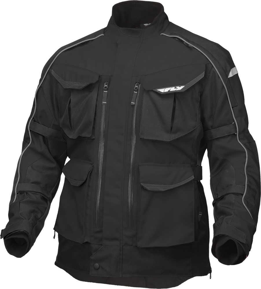 TERRA TREK 4 JACKET BLACK 2X