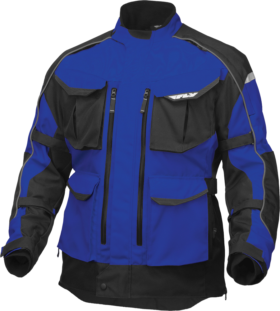 TERRA TREK 4 JACKET BLUE/BLACK 2X