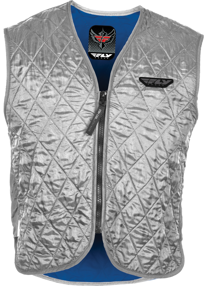 COOLING VEST SILVER 2X